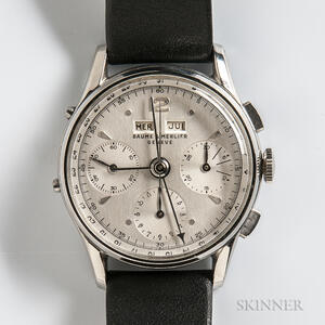Baume & Mercier Stainless Steel Triple Date Chronograph