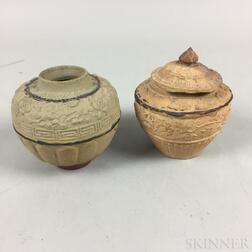 Two Sawankhalok Jars