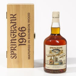 Springbank Local Barley 33 Years Old 1966, 1 750ml bottle (owc)