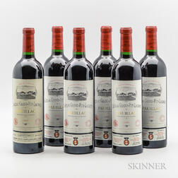 Chateau Grand Puy Lacoste 2000, 6 bottles