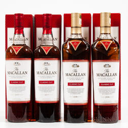 Macallan Classic Cut, 4 750ml bottles (oc)
