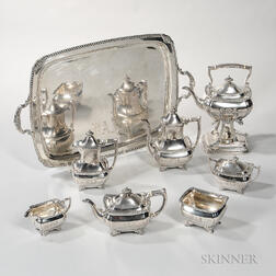 Eight-piece Tiffany & Co. Sterling Silver Tea and Coffee Service