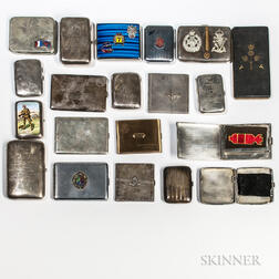 Twenty British Commonwealth Cigarette Cases