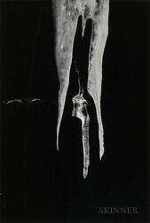 Minor White (American, 1908-1976)      Two Icicles