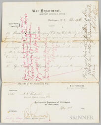 Discharge Document for an African American Soldier