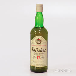 Talisker 12 Years Old, 1 750ml bottle