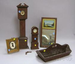 Group of Country and Americana Decorative Items