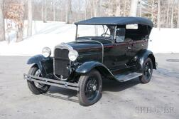 1930 Ford Model A Standard Phaeton