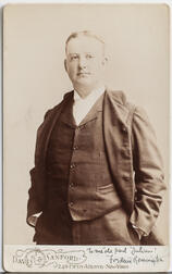 Remington, Frederic (1861-1909) Signed Photograph.