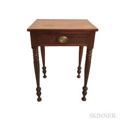 Federal Stained Cherry One-drawer Stand