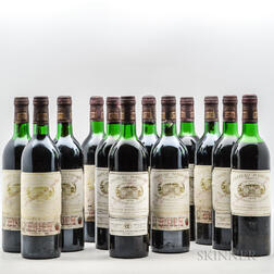 Chateau Margaux 1978, 12 bottles (owc)