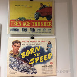Group of Eight Half-sheet Movie Posters