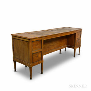 French-style Fruitwood Desk