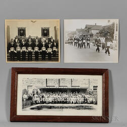 Three African American Fraternal Photographs