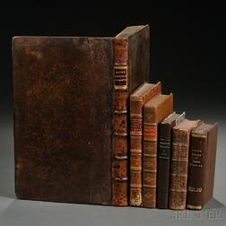 Early Printed Books, Mixed Lot, Six Volumes.
