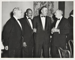 Photograph of Joe Louis and Others