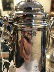 George II Sterling Silver Coffeepot