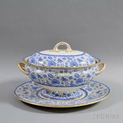 Royal Crown Derby Ironstone Lidded Tureen Underplate