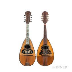 Two Bowl-back Mandolins