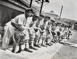 Photograph of Negro League Baseball Team, The Cubans