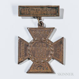 Identified Southern Cross of Honor