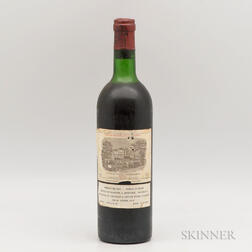 Chateau Lafite Rothschild 1973, 1 bottle