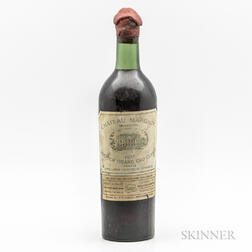 Chateau Margaux 1937, 1 bottle