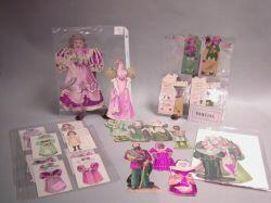 Group of Advertising Paper Dolls