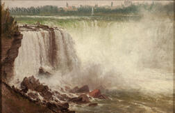 Attributed to Charles Henry Gifford (American, 1839-1904)      Niagara Falls