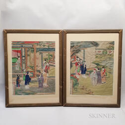 Two Framed Paintings