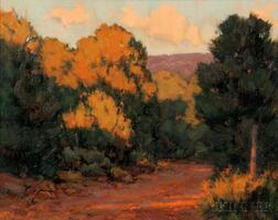 David Ballew (American, b. 1955)      Road to the Foothills ,  Taos, New Mexico