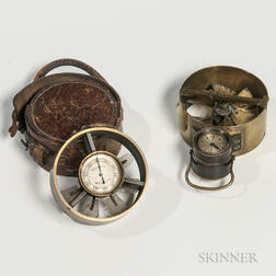 Two 19th Century Pocket Anemometers