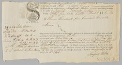 Bill of Lading for the Ship Venus