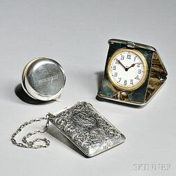 Three American Sterling Silver Items