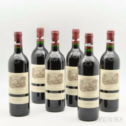 Chateau Lafite Rothschild 1998, 6 bottles