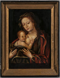 European School, 19th Century      Madonna and Nursing Child
