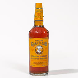 Old Grand Dad 7 Years Old 1970, 1 quart bottle