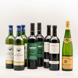 Mixed Wines, 8 bottles