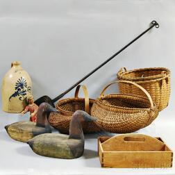 Group of Mostly Early American Decorative Items