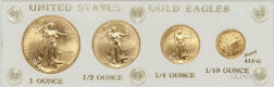 2000 American Gold Eagle Four-coin Set.