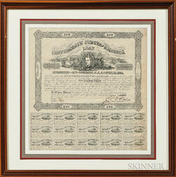 Confederate Bond Sheet