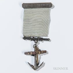 Silver Civil War Navy Medal