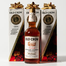 Old Crow, 3 4/5 quart bottles (oc)