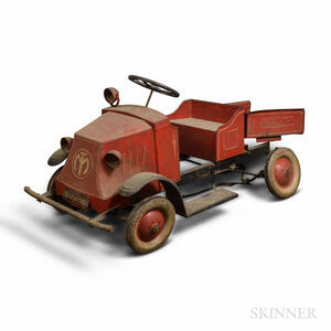Steel Craft Magic Pedal Dump Truck