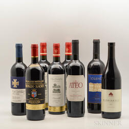 Mixed Italian Wines, 8 bottles