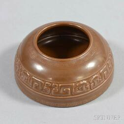 Small Brown-glazed Water Coupe