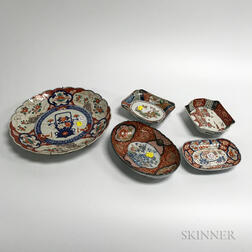Twenty Pieces of Mostly Imari Porcelain.     Estimate $400-600