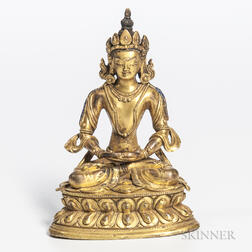 Bronze Figure of Avalokitesvara