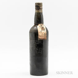 Unknown Producer (believed to be Verdelho Port) believed to be 1838, 1 bottle