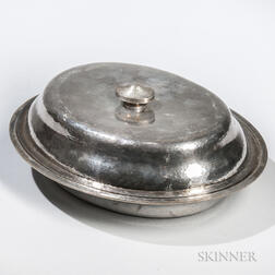 Arts and Crafts Sterling Silver Tureen